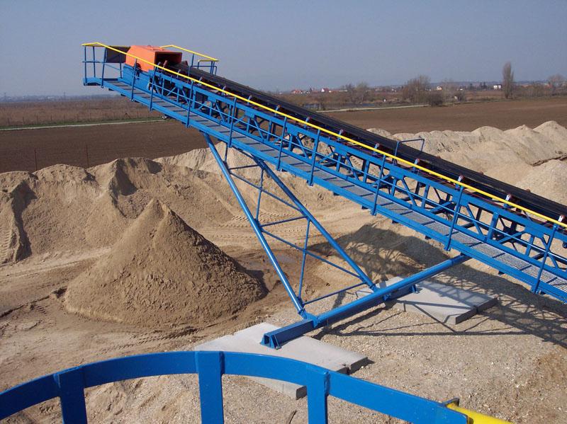 Belt Conveyor - Pro Sand Engeneering s r o